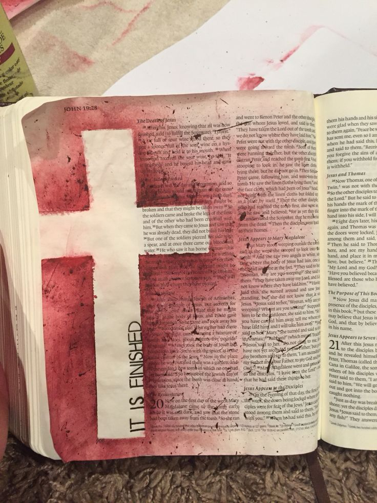 John 19:30 bible journal