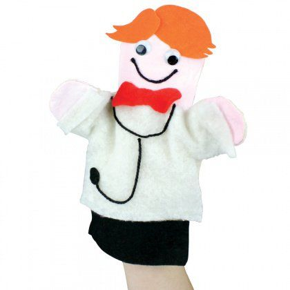 Doctor Hand Puppet - CleverPatch