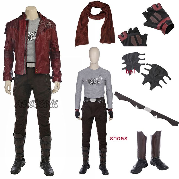 Guardians of the Galaxy 2 Star-lord Peter Jason Quill Cosplay Costume All Size  | eBay