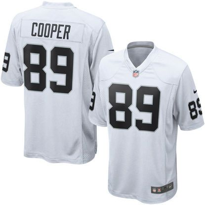Youth Amari Cooper Oakland Raiders Nike  White Game Jersey