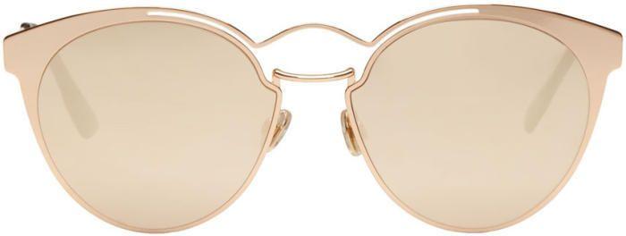 Dior Gold Nebula Sunglasses - Eyewear - Fashion - Ad   Accessorized ... 1f2d4803bf15