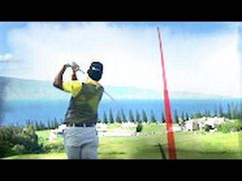 Hideki Matsuyama's Majestic Golf Shots 2017 SBS Tournament of Champions PGA Tournament.