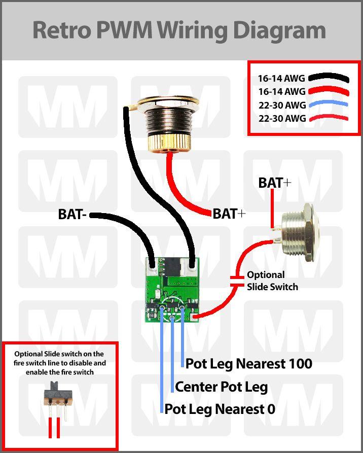 Retro PWM Wiring Diagram | Listrik, Arsitektur | Pwm Wiring Diagram |  | Pinterest