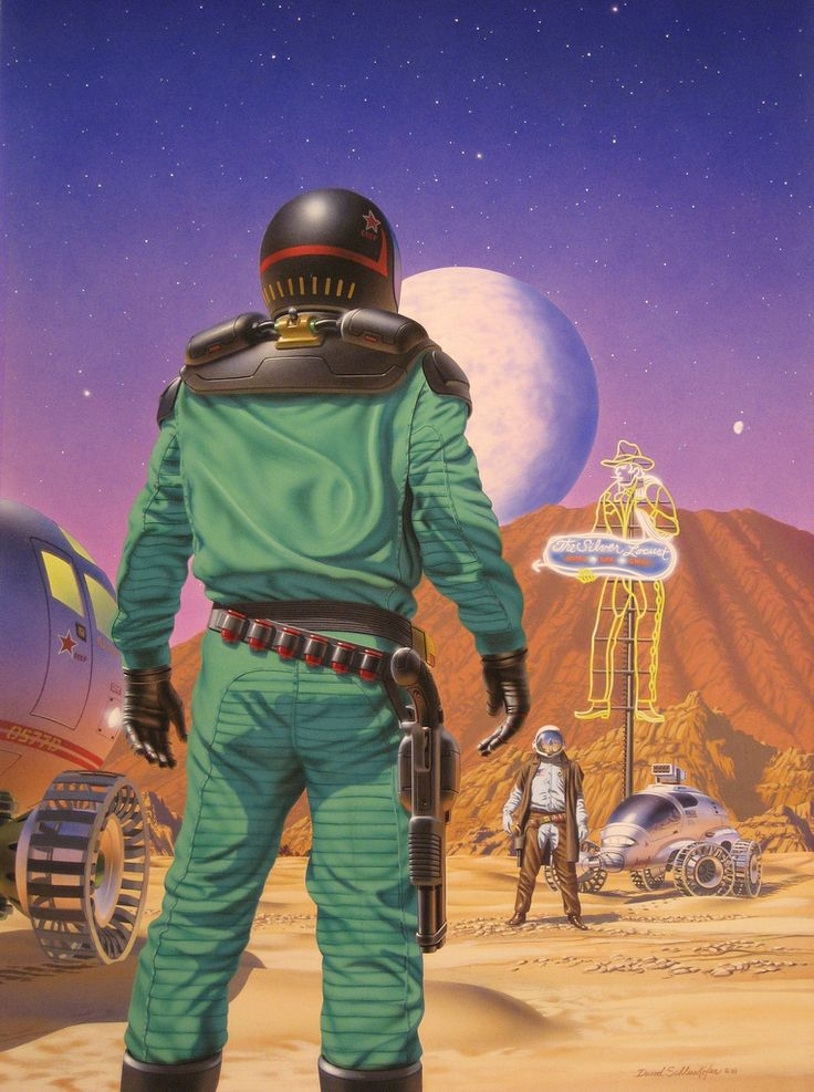 David Schleinkofer's Sci-Fi World