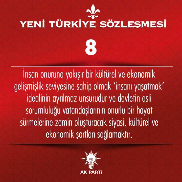 8.Madde, #YeniTürkiyeSözleşmesi
