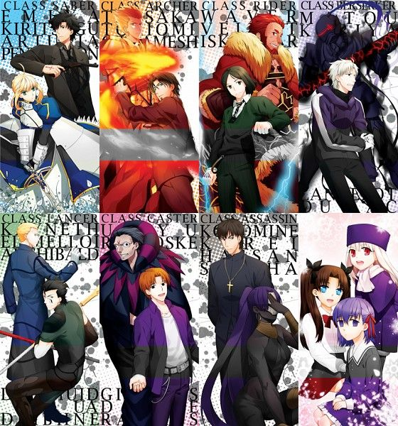 fate zero master and servant relationship
