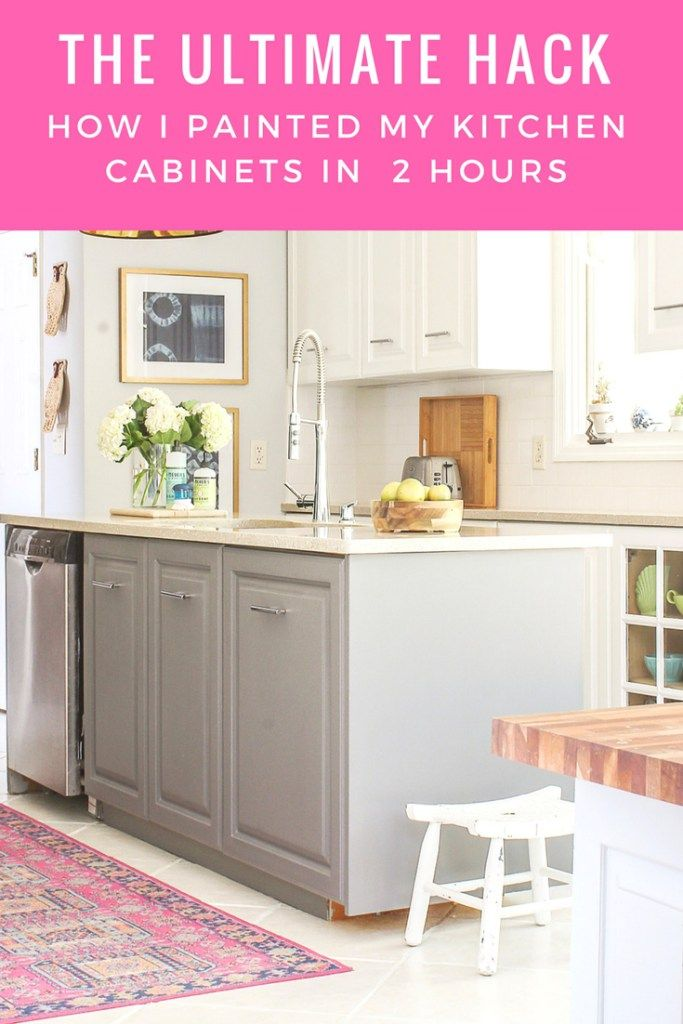 Fastest Way To Paint Kitchen Cabinets The Ultimate Hack Painting Kitchen Cabinets Kitchen Cabinets Kitchen Paint