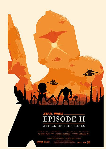 Awesome Minimalist Star Wars Posters - Photo - TechEBlog