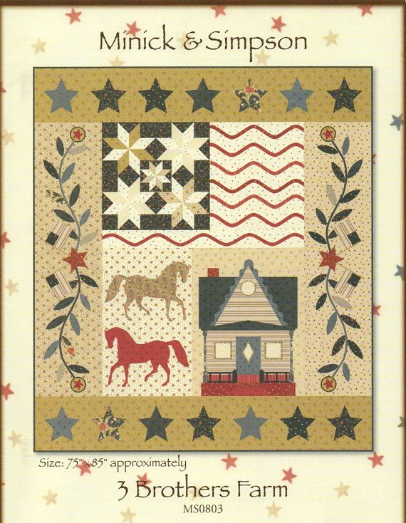 495 best Quilts etc - 'On the Farm' images on Pinterest | Block of ... : farm quilt patterns - Adamdwight.com