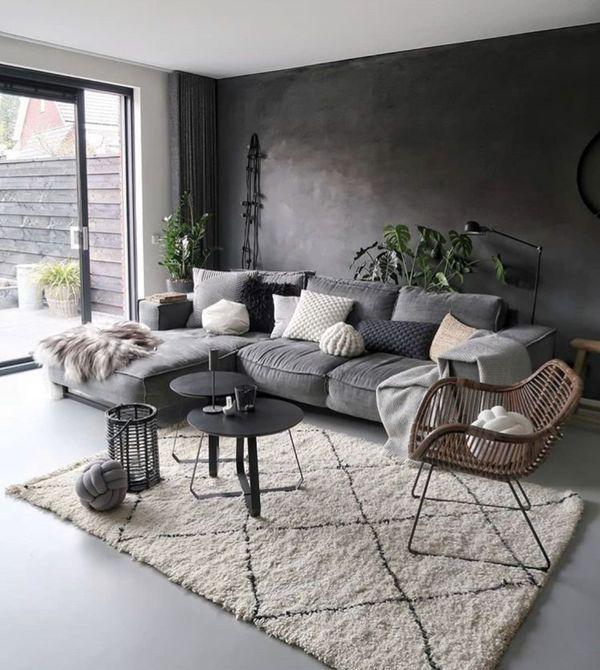 30+ saubere und einfache Design-Ideen für das minimalistische Wohnzimmer