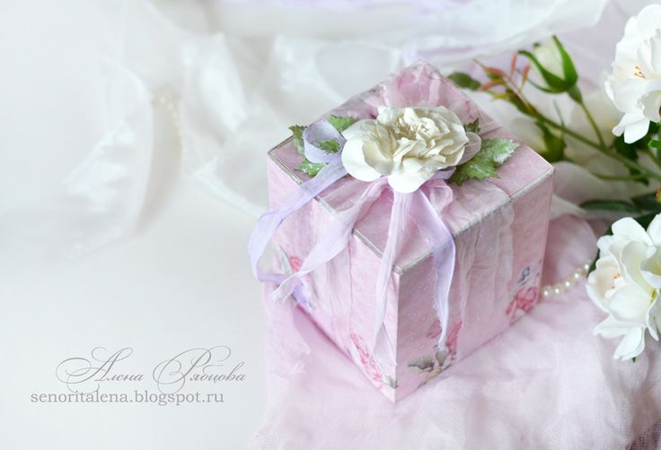 ScrapBerry's: handmade gift box by Alena Ryabtsova, A Furry Little Story collection