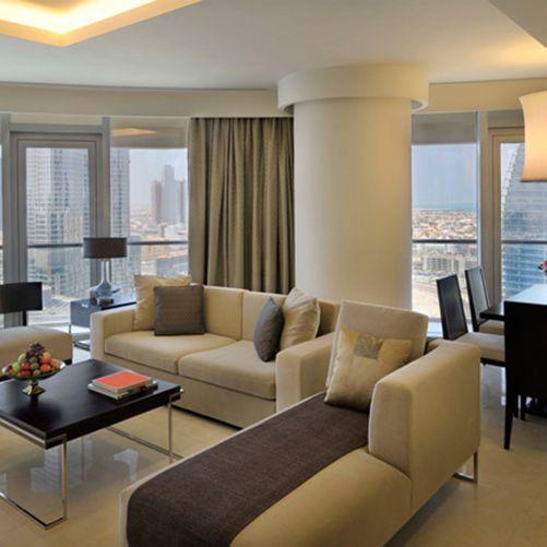 The Address Dubai Mall-Three-Bedroom Residence
