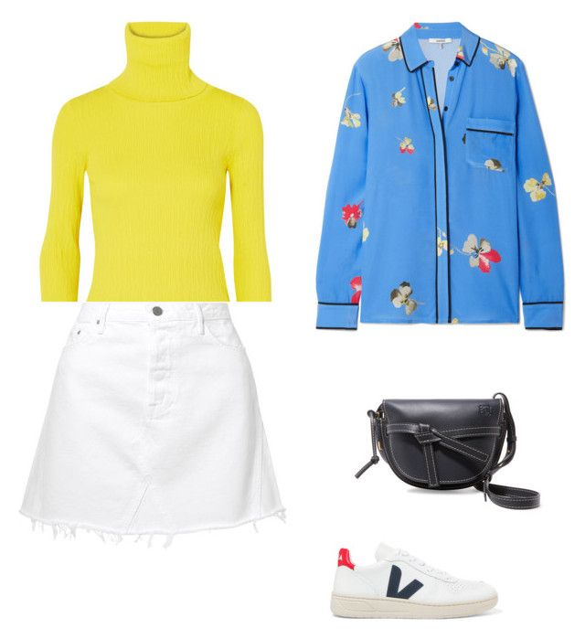 """""""Street Style"""" by julieselmer on Polyvore featuring Ganni, Simon Miller, GRLFRND, Loewe and Veja"""