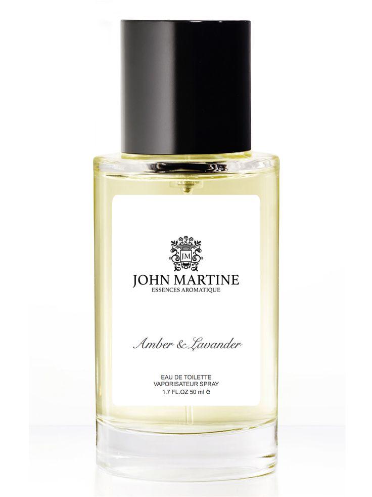 John Martine Essence Aromatique amber & lavander...