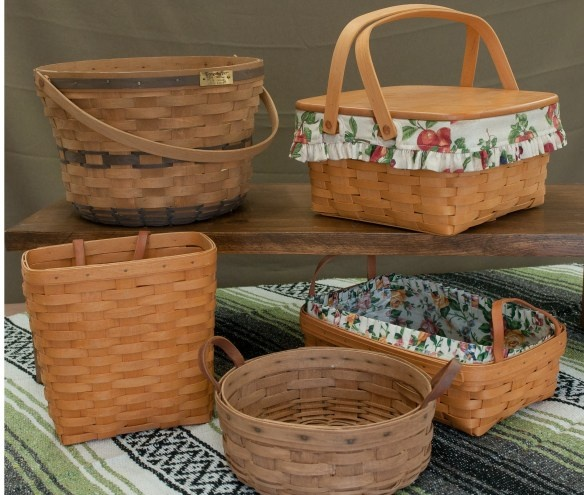 Longaberger baskets i have been collecting since the Longaberger baskets for sale