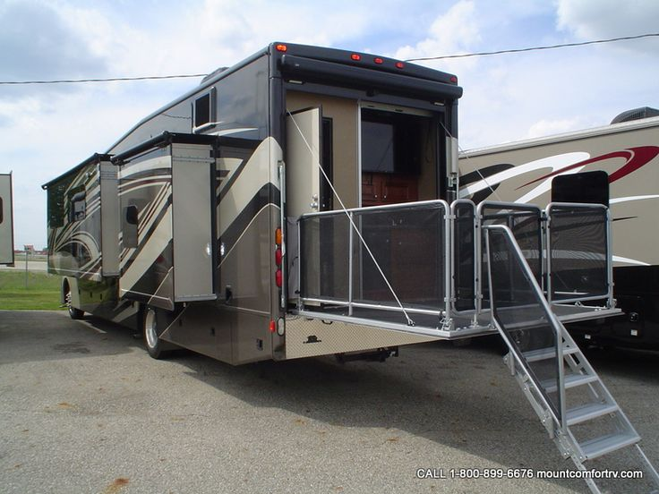 Thor Outlaw 38re Quot Residence Edition Quot With Patio Deck And
