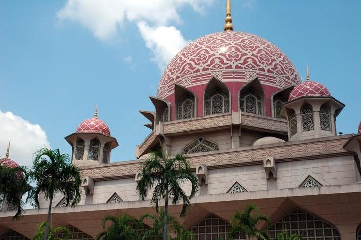 Putra- Putrajaya, Malaysia close up: Majestic Mosque S, Malaysia Close, I M From Malaysia, Beautiful Masjids, Putrajaya In, Close Up