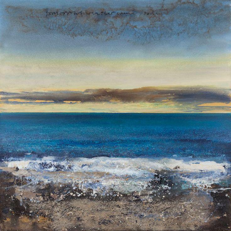 Kurt Jackson: Tomorrows weather came today 2012 Campden Gallery, fine art, Chipping Campden, camden gallery, contemporary, contemporary arts...