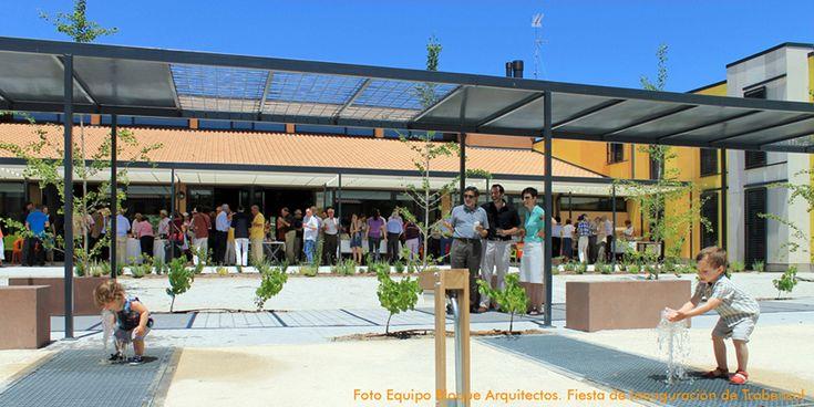 Fiesta de inauguración del Centro Social de Convivencia para Mayores #Trabensol Trabensol #Cohousing Social Centre for the Elderly inauguration party