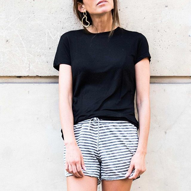 Put on your shades and your linen shorts for a perfect summer day #fine_paris #linen #holidays #paris