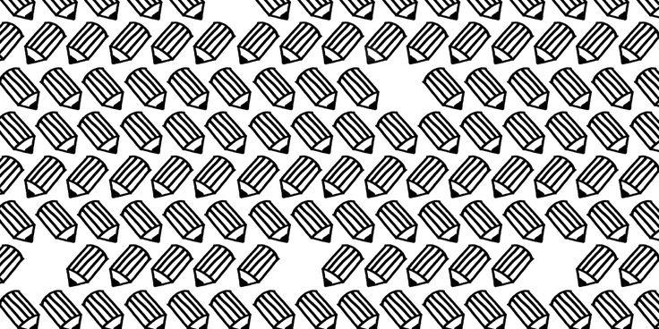 Bombotti, pattern/ Kynänvapaus – Freedom of Pen / design Sanna Pelliccioni