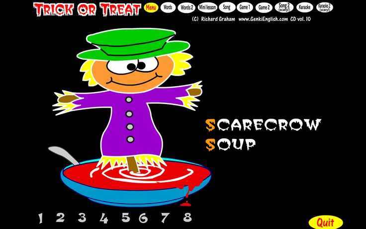 Two Trick or Treat songs, both packed full of alliteration, rhyme and Monster Fun! #tefl #teaching #Halloween