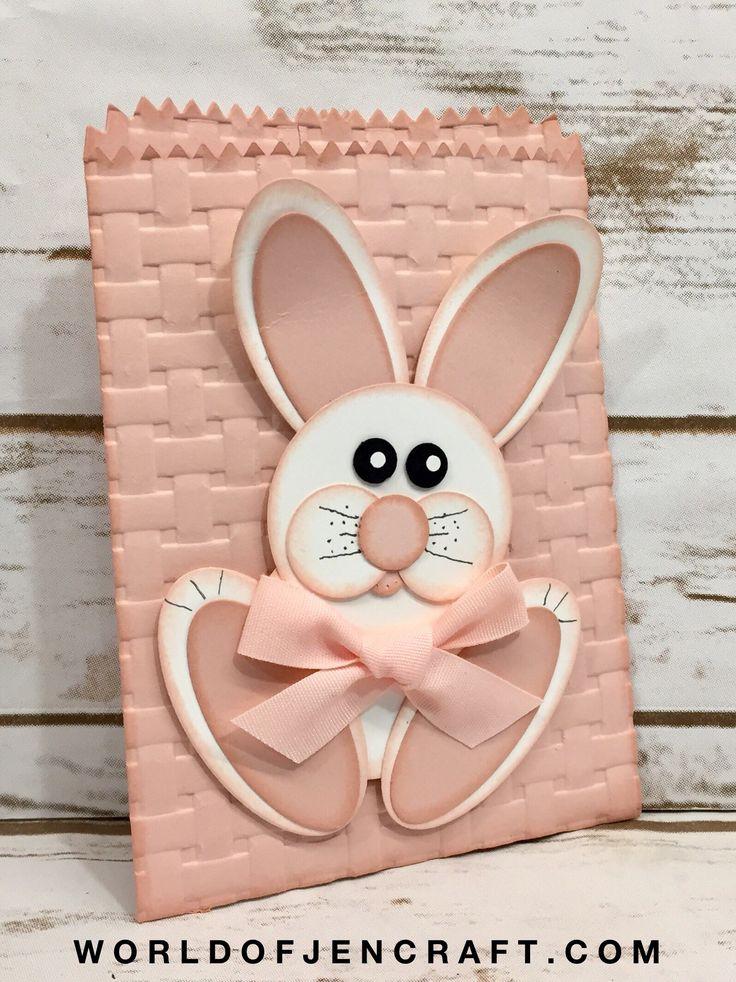 Stampin' Up! - Bunny Punch Art Mini Treat Bag - World of JenCraft