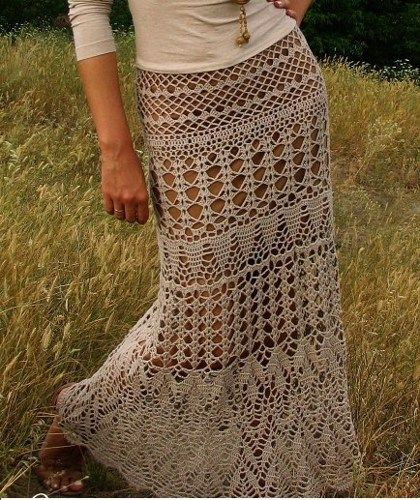 48 Best Crochet Skirts Images On Pinterest Crochet Clothes