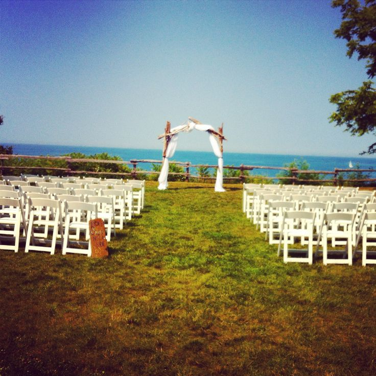 Bayfield, Ontario - Waterfront Wedding Ceremony site - Pioneer park - Wedding Day Coordination by High Gloss Weddings - www.highglossweddings.com