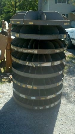 Industrial Roto-Bin, storage drums, plastic pallets FOR SALE!