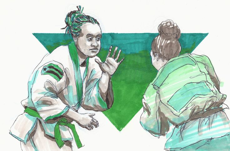Inktober 12 - Idalys Ortiz  Idalys Ortiz is an Afro Cuban Judo practitioner who has not only competed all over the world, but has either won or placed in over 20 championship matches including the Rio, Beijing, and London Olympics. She was 18 in the...