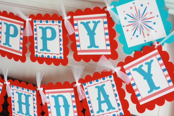 4th of july birthday greetings