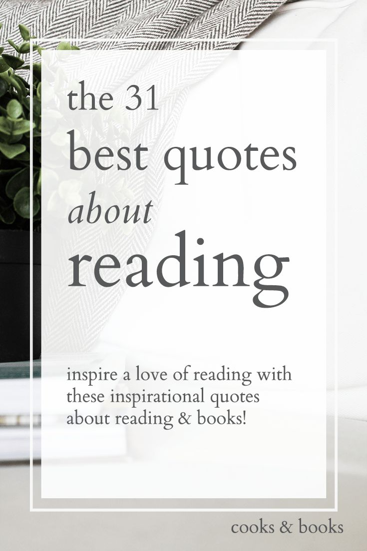 The 31 best quotes about reading