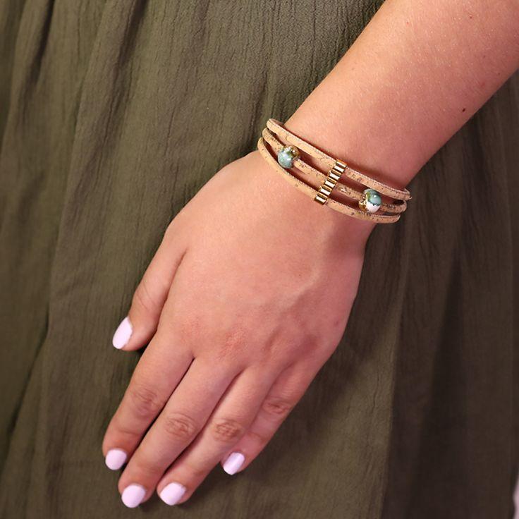 Charm Cork Bracelet !!!