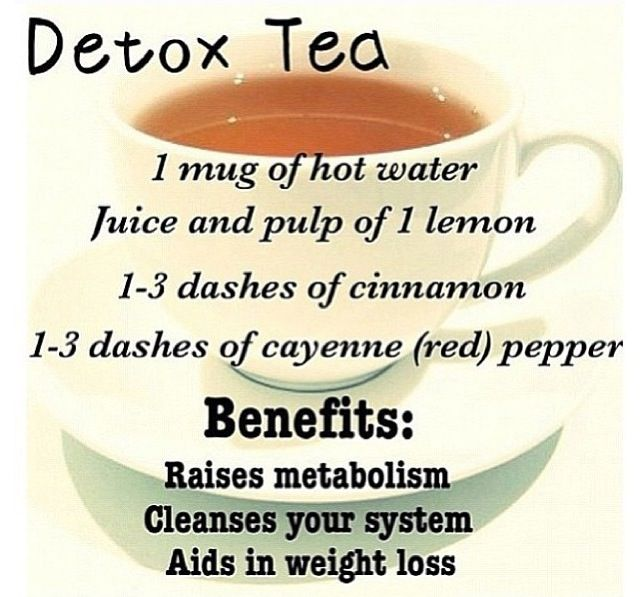 I tried this over the summer with iced water Detox tea to raise metabolism, cleanse your system, aid weight loss