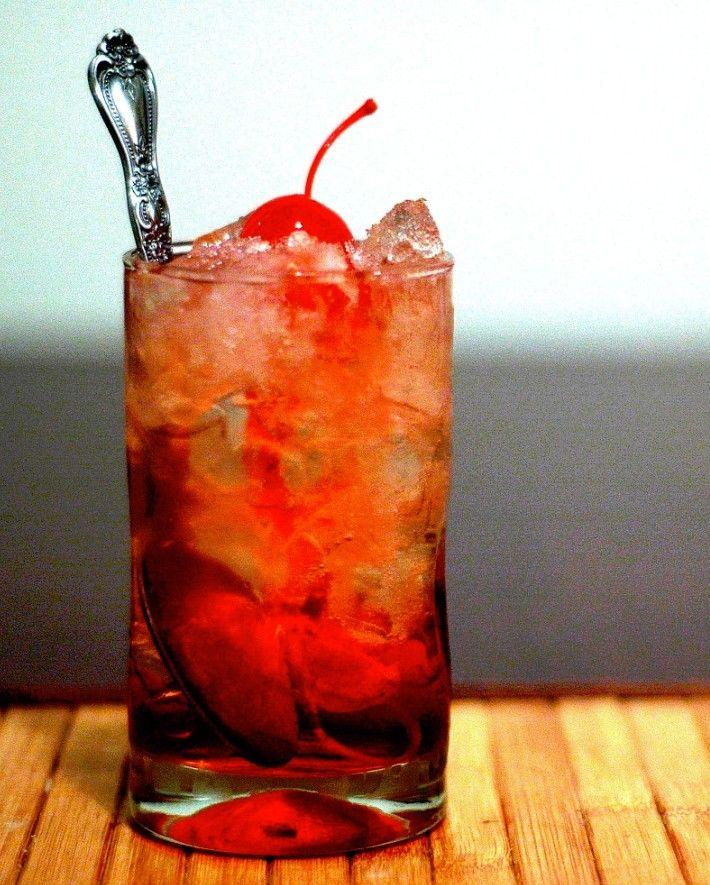 Cóctel sin alcohol Shirley Temple....receta