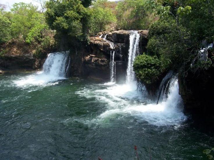 Cachoeira do Redondo em Barreiras, Bahia, Brazil