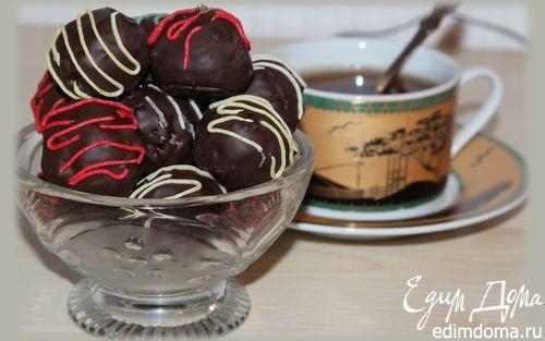 """Конфеты """"Ореховый микс с клюквой""""   Кулинарные рецепты от «Едим дома!»"""