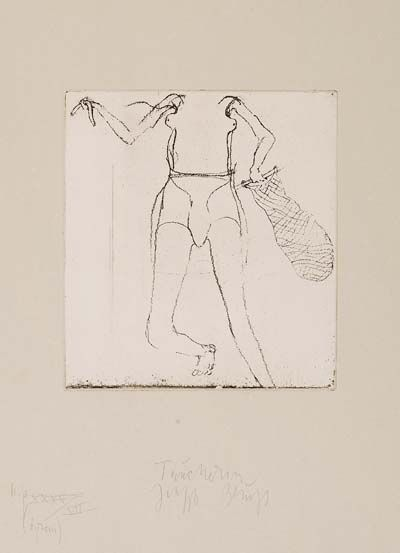Joseph Beuys - Taucherin