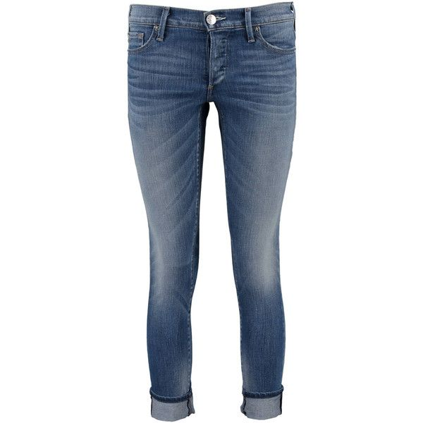 "Damen Jeans ""Liv Slim Boyfriend"" WC507UA8 Low Rise Relaxed Skinny ($320) ❤ liked on Polyvore featuring jeans, super skinny jeans, relaxed fit jeans, slim fit skinny jeans, relaxed boyfriend jeans and slim jeans"