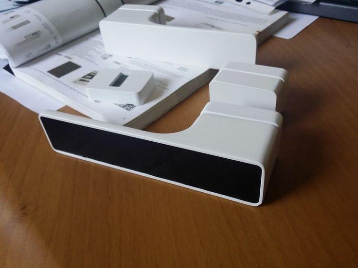 Klamka M&T MAXIMAL kolor biały RAL + insert SIBU
