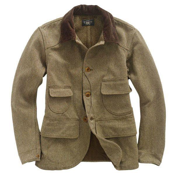 RRL/Twill Campbell Jacket