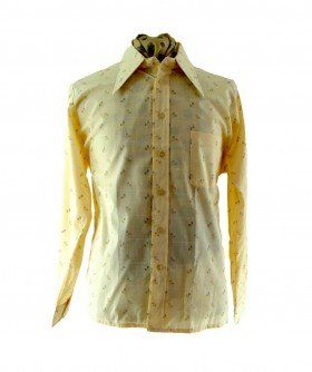 39 best original 70s shirts images on pinterest 70s shirts beige printed 70s shirt sciox Image collections