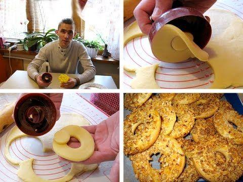 Высечки для пончиков и печенья: https://www.youtube.com/watch?v=eziQhZLzXOM&feature=youtu.be    #Пончики #печенье #выпечка #сладкое #десерты #Donuts #Maker #Mold #Cake #Cutter #Doughnuts #Desserts #Bakery #Mould