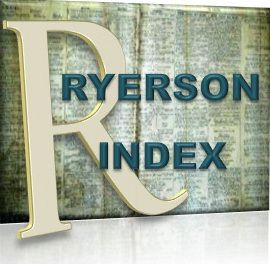 The Ryerson Index. The Ryerson Index is an index to death notices appearing in current Australian newspapers. It also includes some funeral notices, probate notices and obituaries.