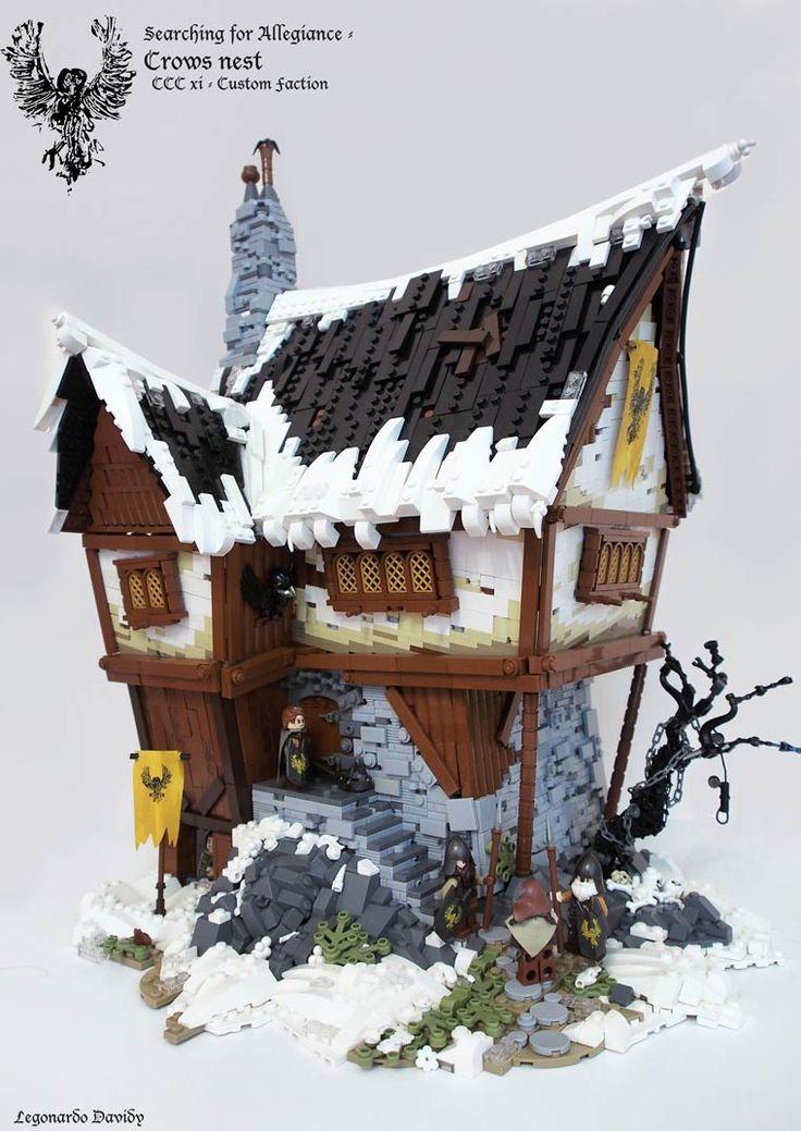 Herr der Ringe Gebäude aus Lego