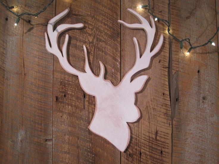 reindeer wall ornament
