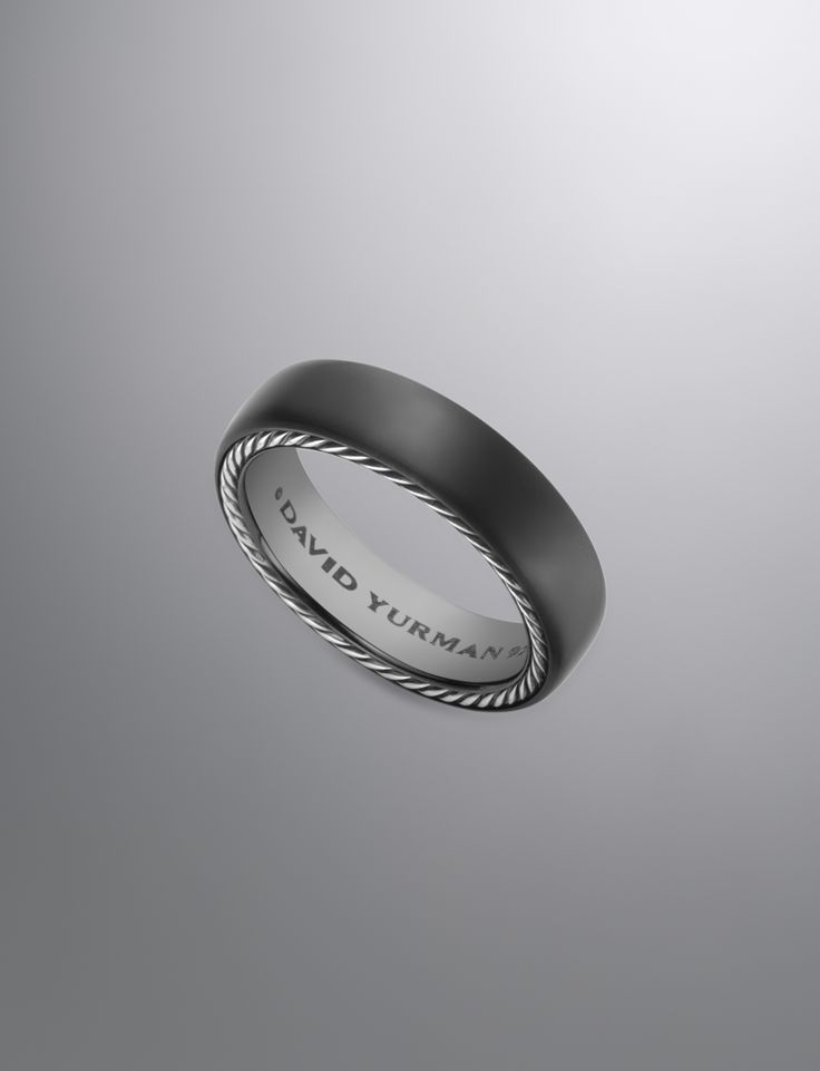 Streamline Ring, 6mm | Men Rings | David Yurman Official Store