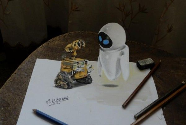 E 3D drawing