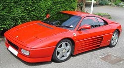 Looks like a Testarossa, but cheaper and comes in convertible